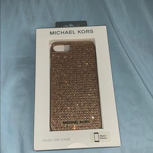 Michael Kors rose gold iPhone 7/8 case